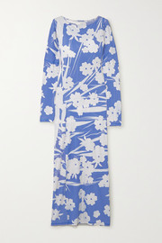 ioannes Floral-print stretch-jersey maxi dress
