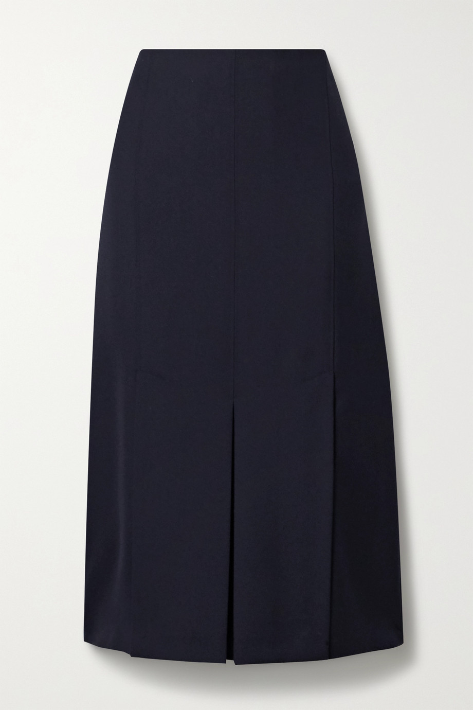 Jason Wu Pleated twill midi skirt
