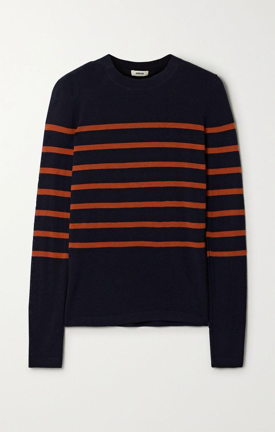 Jason Wu Striped merino wool sweater
