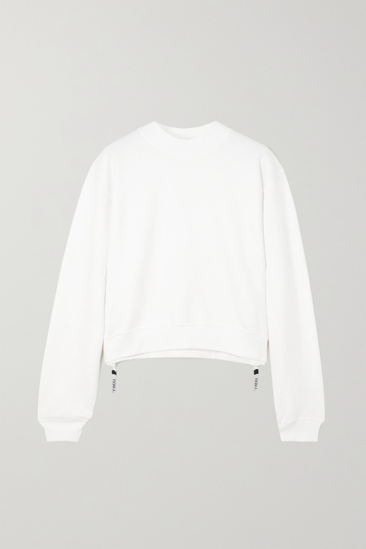 AARMY Love Sweatshirt aus Baumwoll-Jersey mit Reißverschlüssen