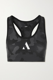 AARMY Chelsea camouflage-print stretch sports bra