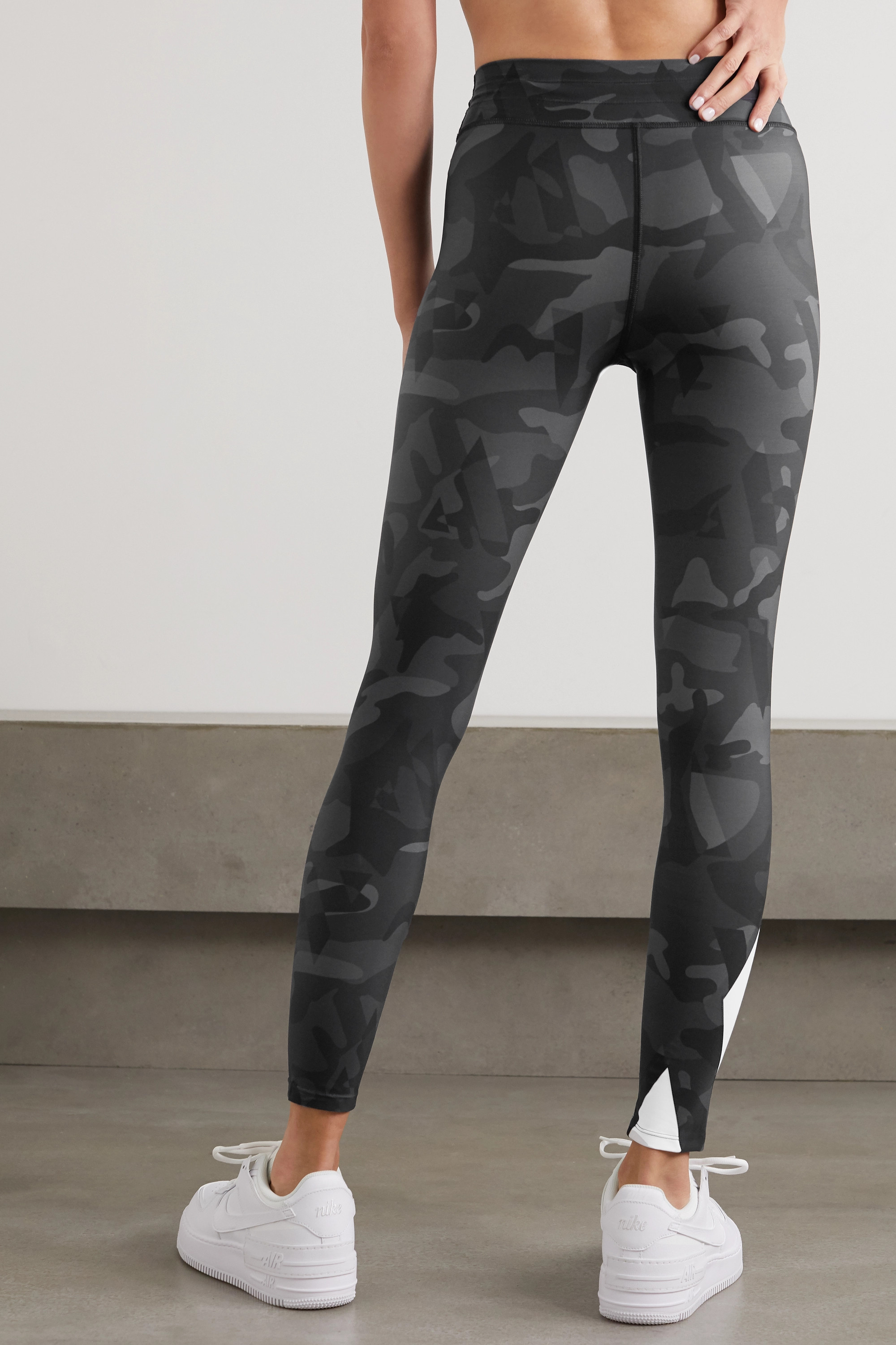 AARMY Chelsea Stretch-Leggings mit Camouflage-Print