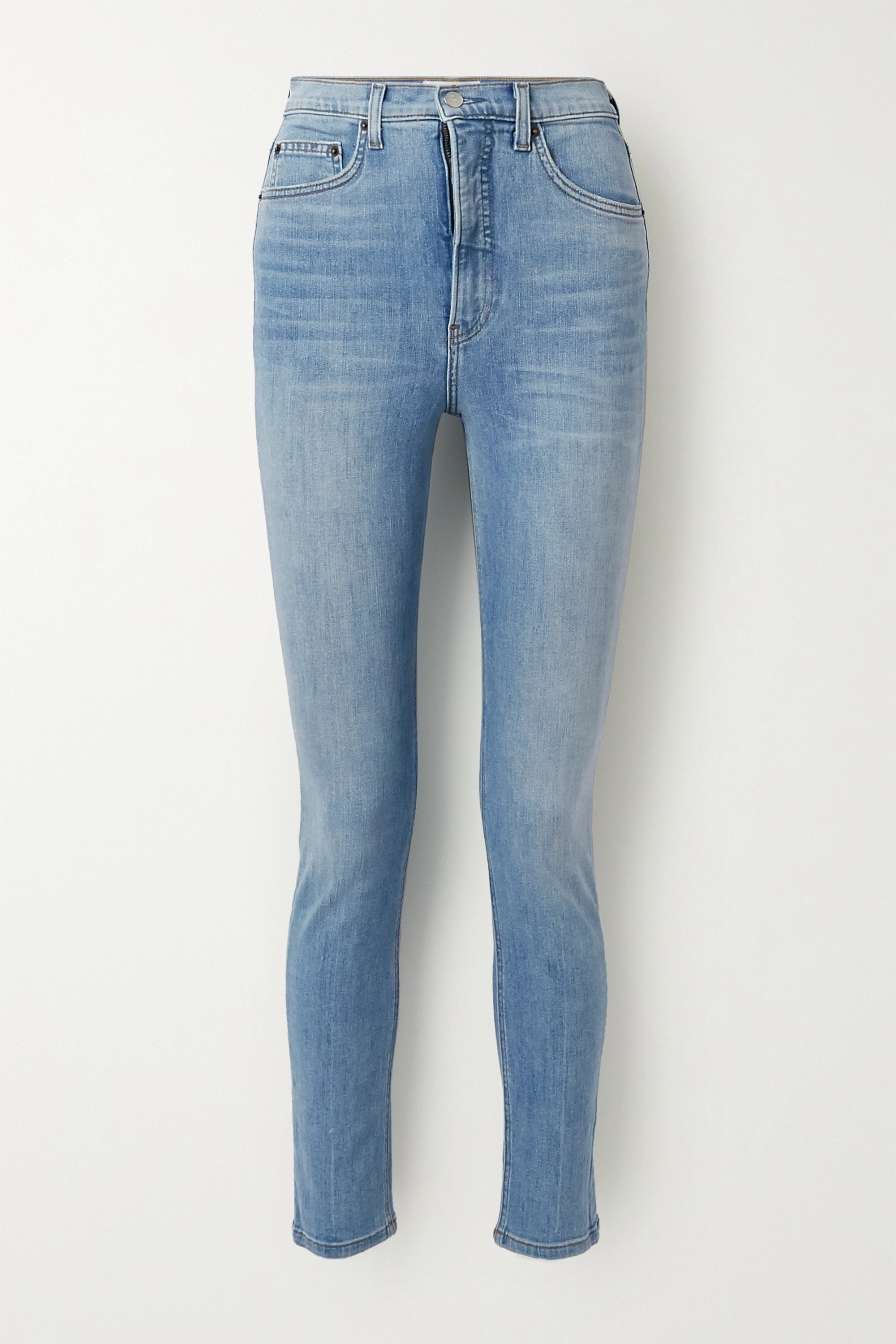 Reformation + NET SUSTAIN high-rise skinny jeans