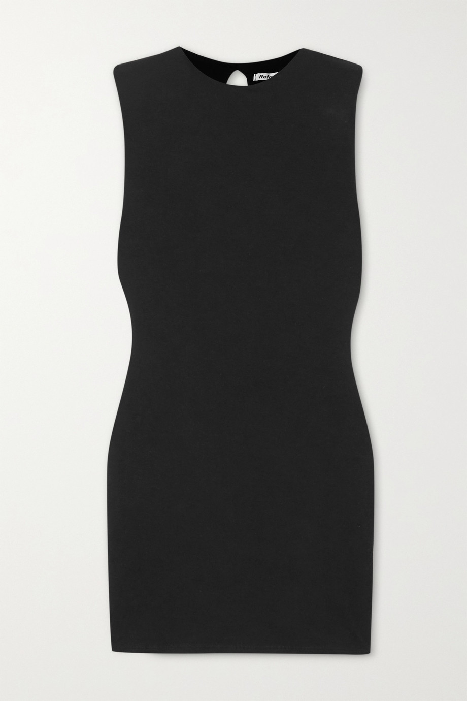 Reformation + NET SUSTAIN Rumi stretch-Tencel mini dress