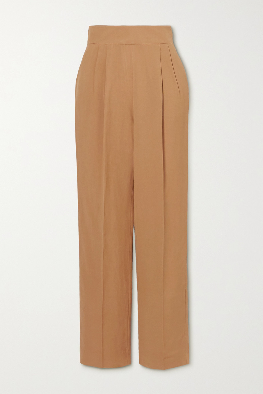 USISI SISTER Flora pleated woven straight-leg pants