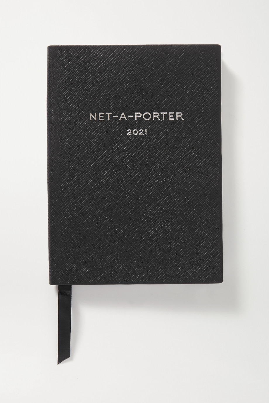 Smythson + NET-A-PORTER Panama Soho 2021 textured-leather diary