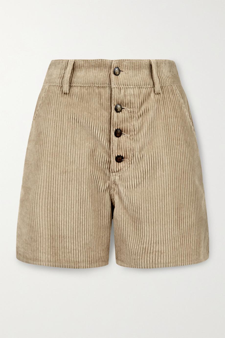 Etro Cotton-corduroy shorts
