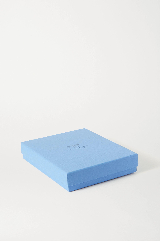 Smythson 2021 Soho Diary croc-effect leather diary