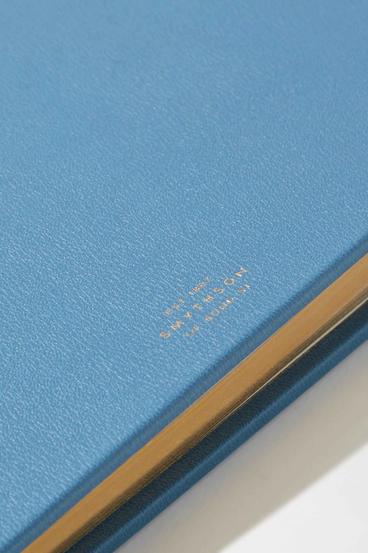 Smythson Grosvenor Babybuch aus strukturiertem Leder