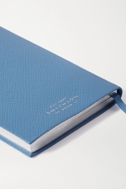 Smythson Panama Travels and Experiences Notizbuch aus strukturiertem Leder