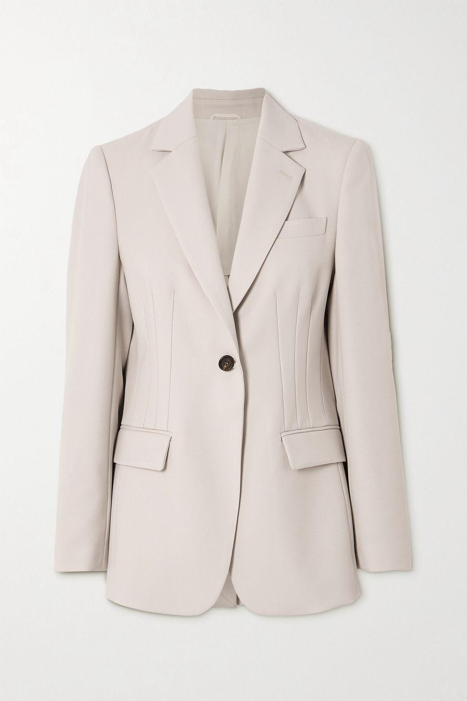 Brunello Cucinelli Wool-twill blazer