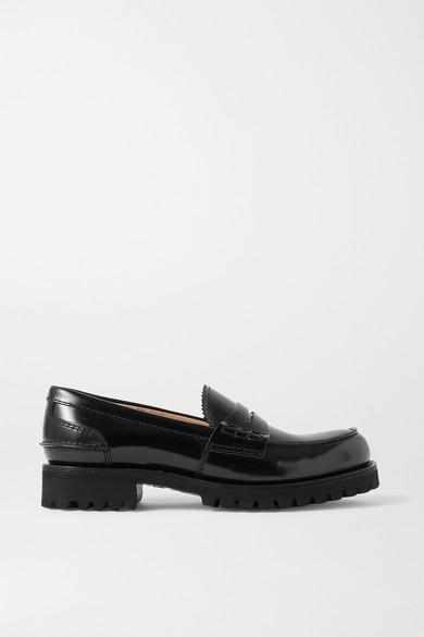 Church's Leathers CAMERON GLOSSED-LEATHER LOAFERS