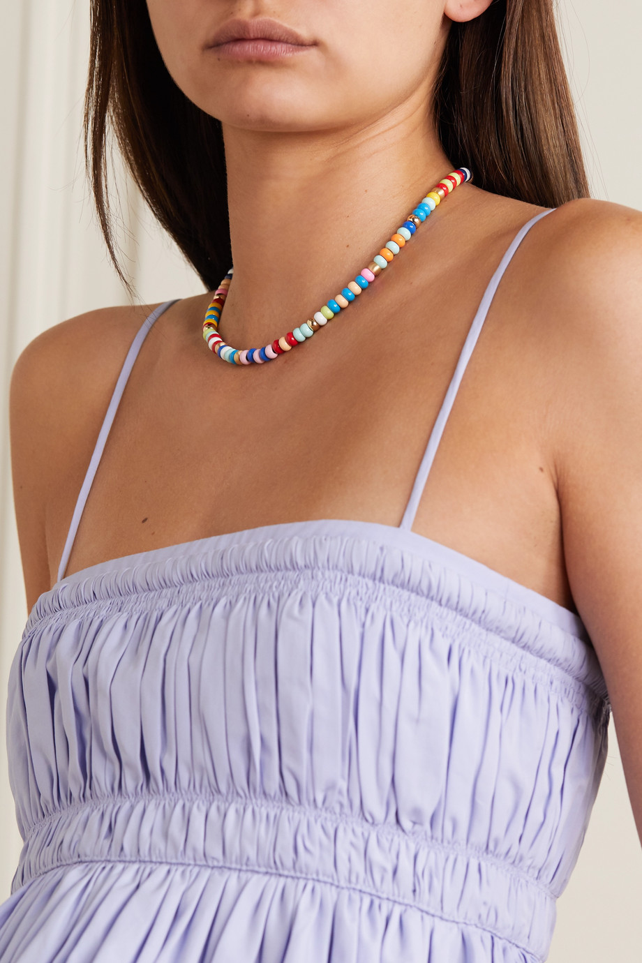 Roxanne Assoulin This And That Kette mit Emaille und roségoldfarbenen Details