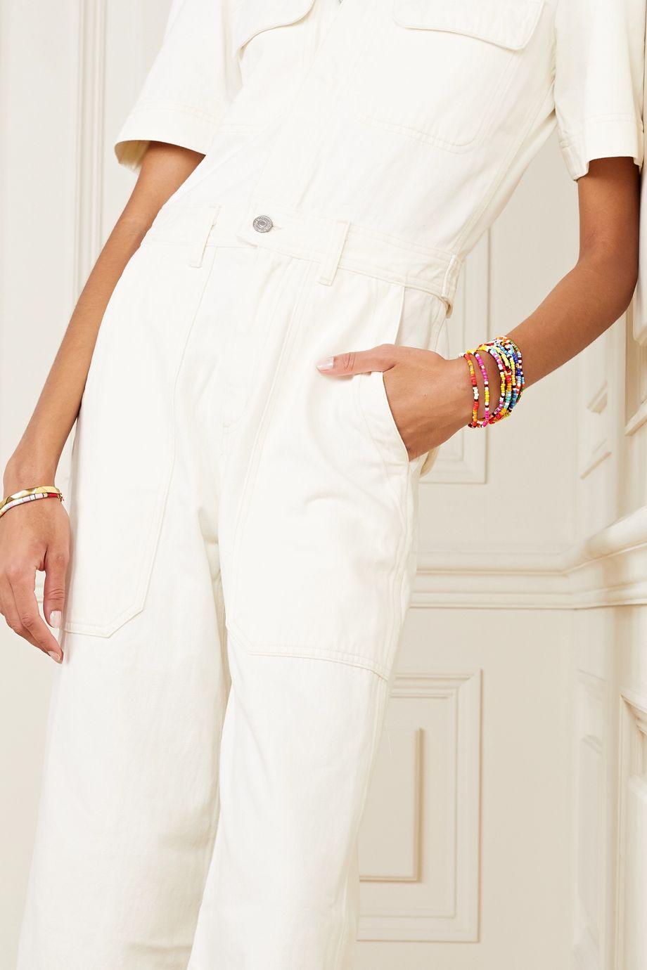 Roxanne Assoulin New Patchwork 珠饰手链(12 条装)