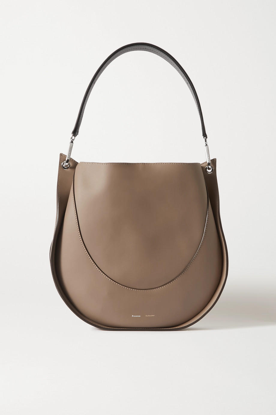 Proenza Schouler Arch large two-tone leather shoulder bag