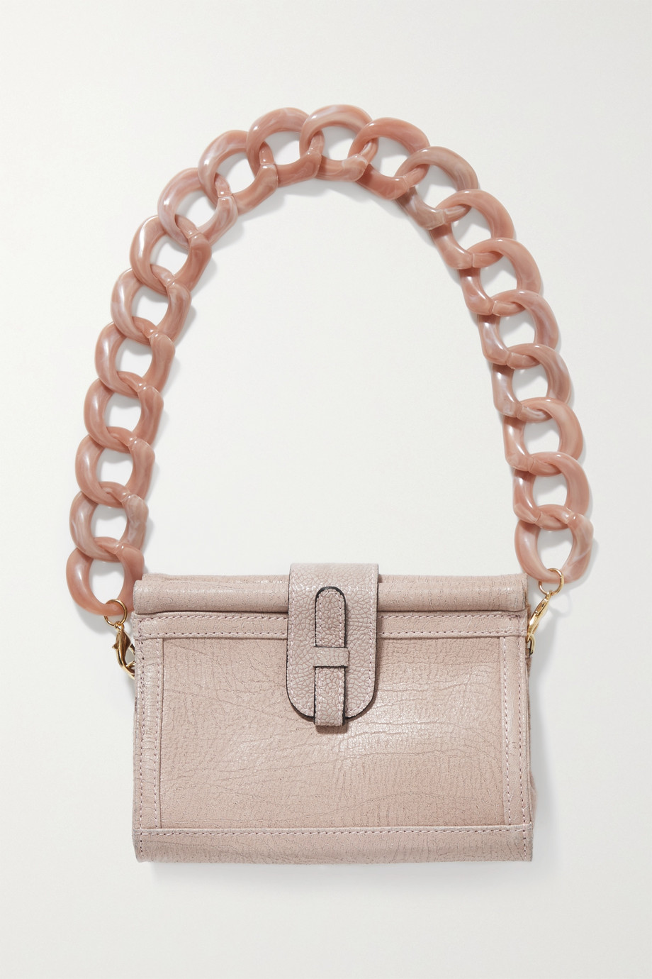 Ximena Kavalekas Carmen textured-leather shoulder bag