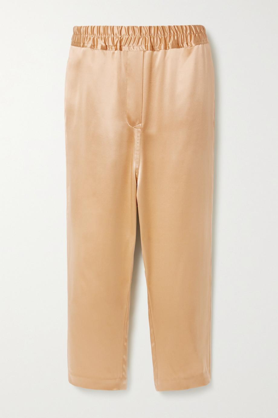 Nili Lotan Safi silk-satin track pants