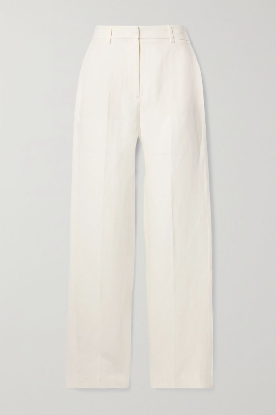 Nili Lotan Atwater linen and silk-blend straight-leg pants