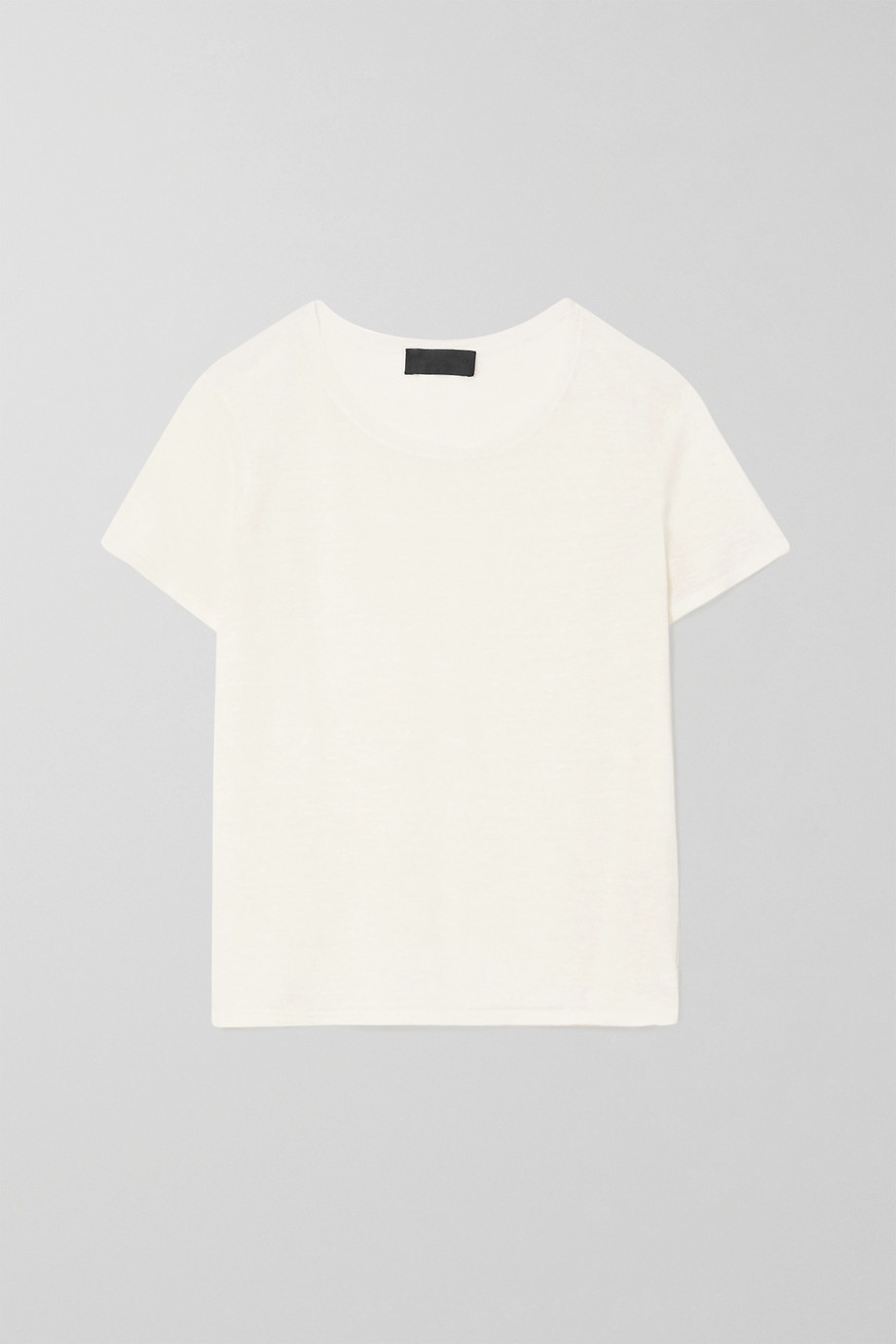 Nili Lotan T-shirt en lin Kimberly