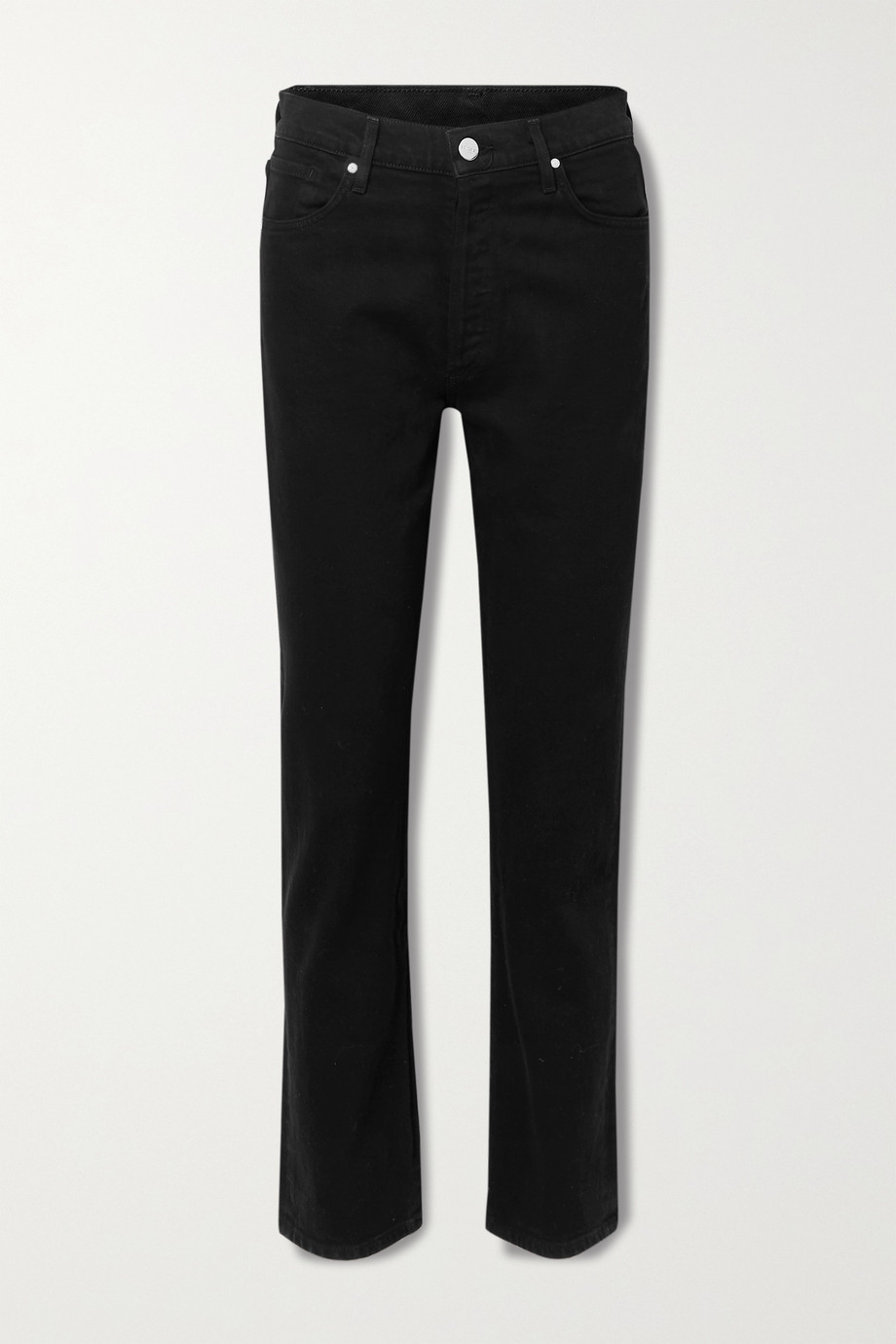 GOLDSIGN The Benefit high-rise straight-leg jeans