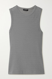 GOLDSIGN Nineties ribbed stretch-jersey tank