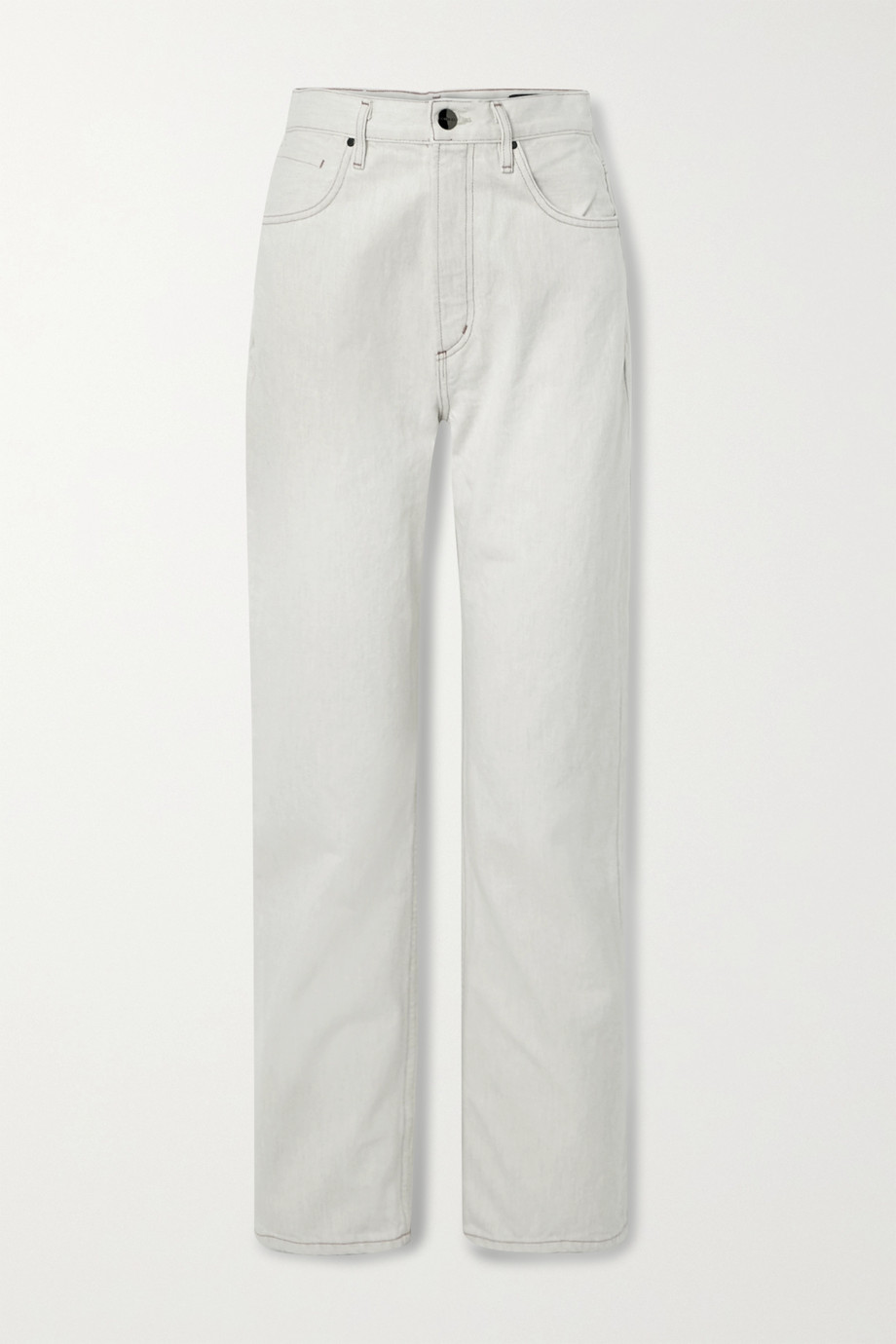 GOLDSIGN The Martin high-rise straight-leg jeans