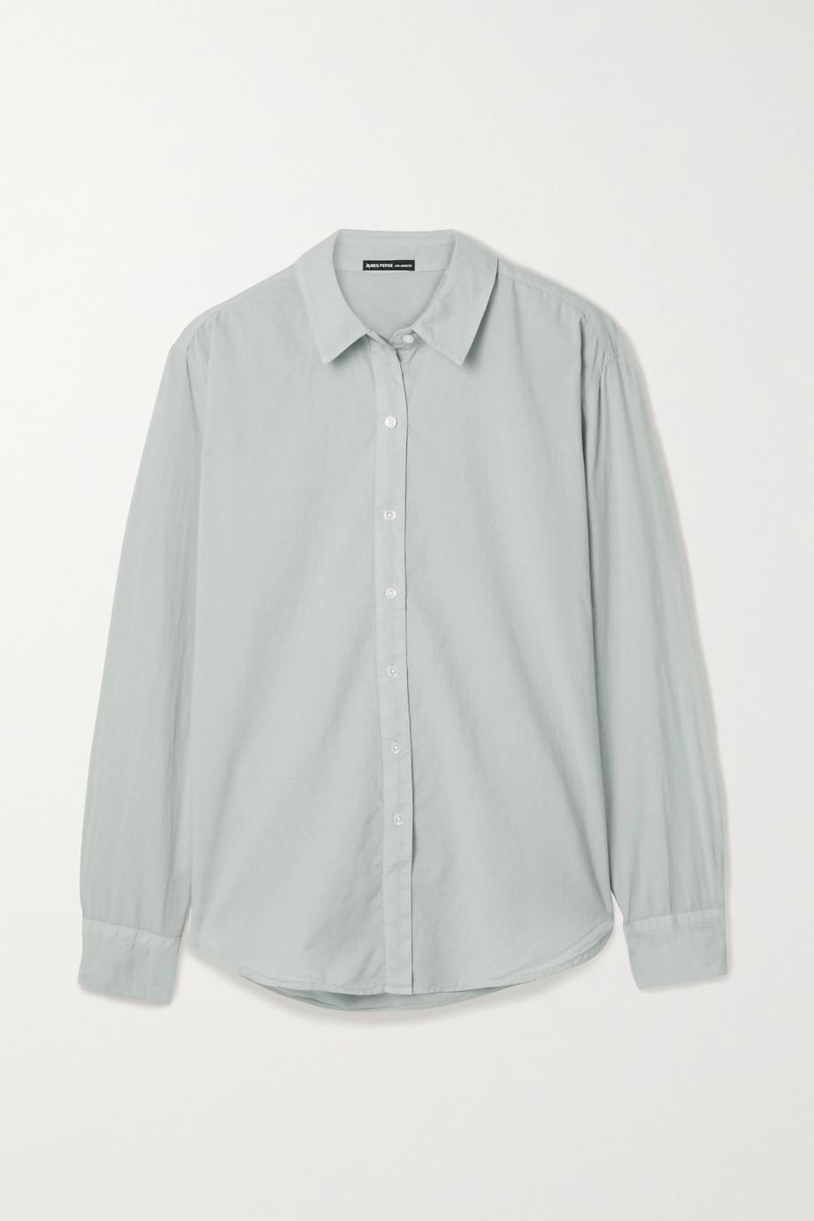 James Perse Cotton-voile shirt