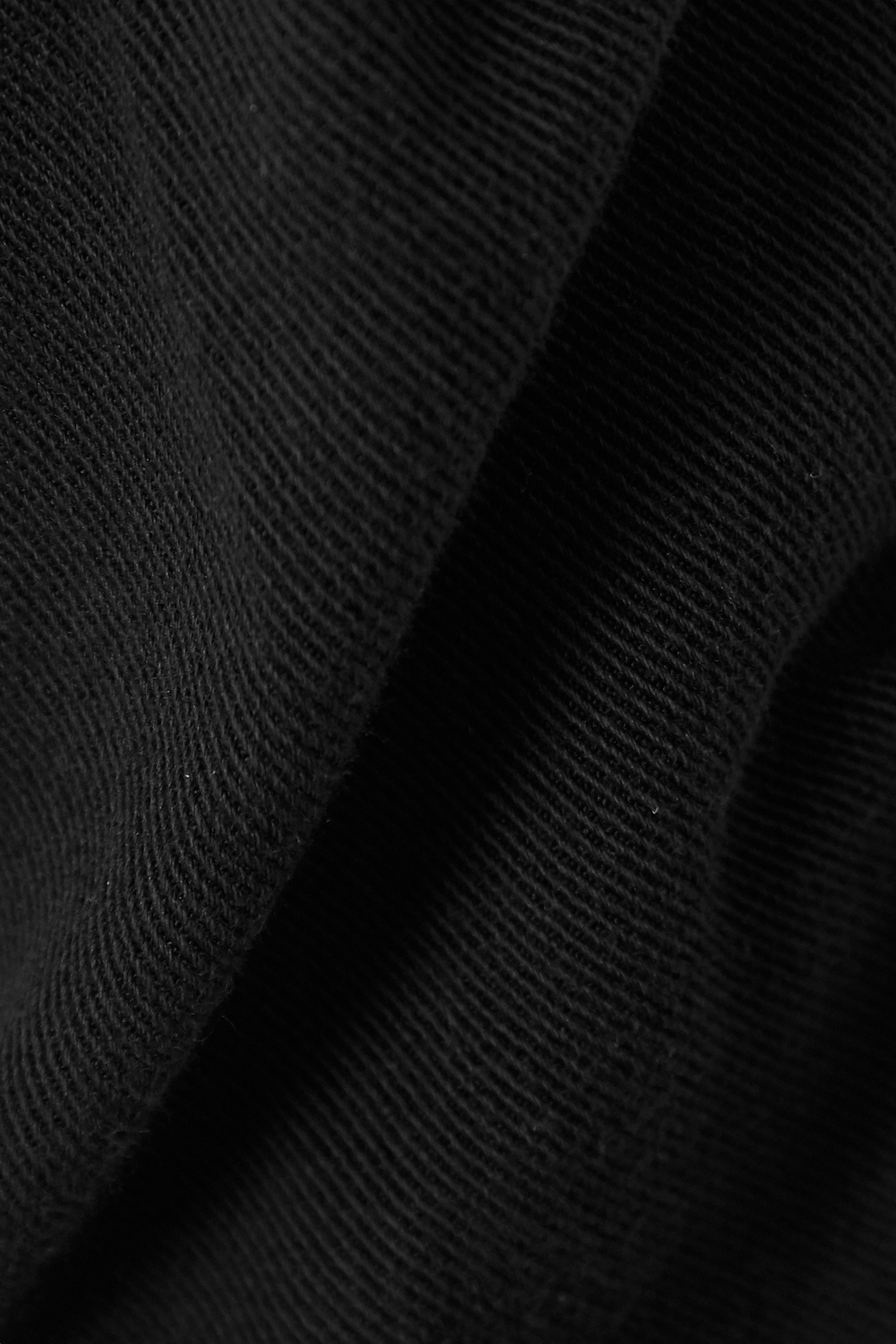 Black Cotton-blend Twill Track Pants | James Perse