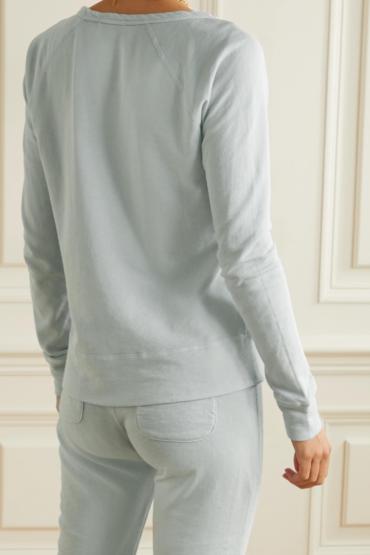 James Perse Cotton-terry top