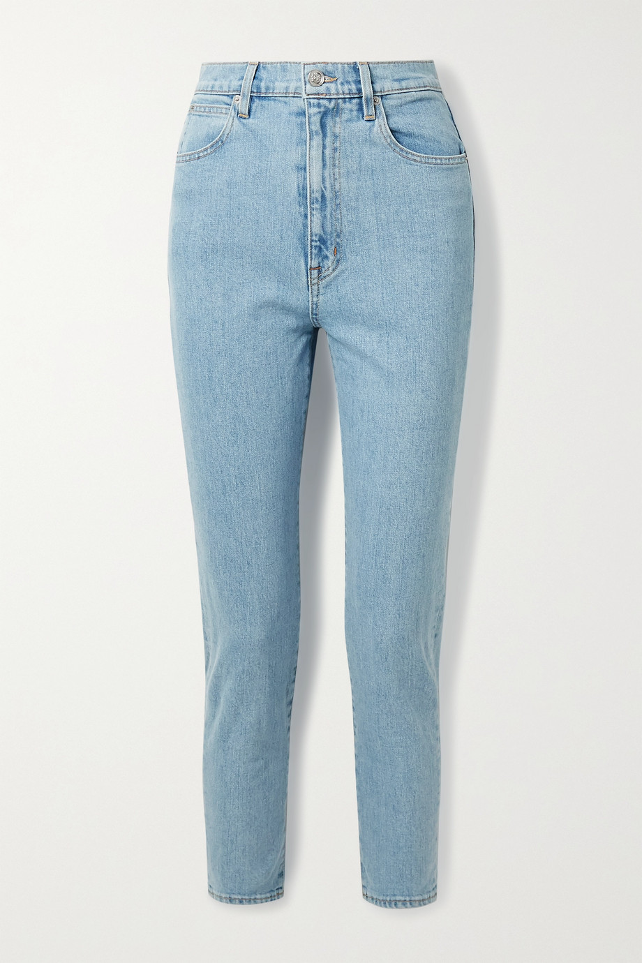 SLVRLAKE Beatnik hoch sitzende Jeans mit schmalem Bein