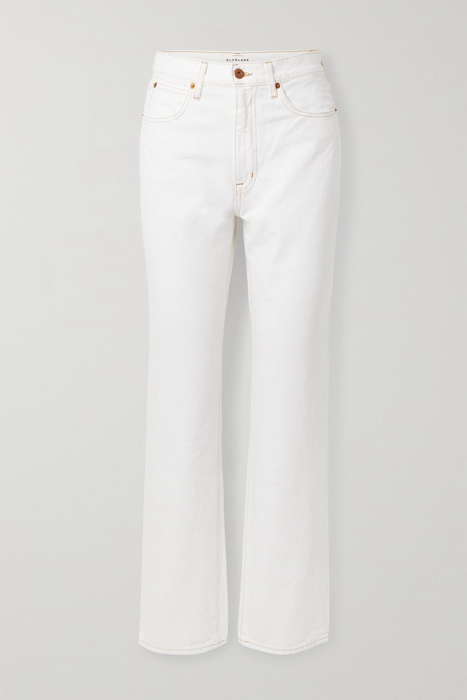 SLVRLAKE London high-rise straight-leg jeans