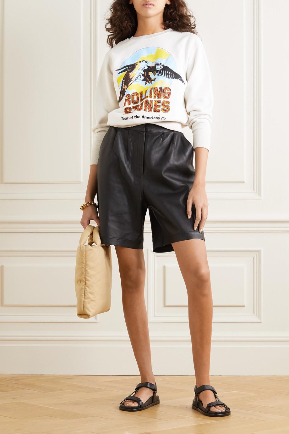 MadeWorn Rolling Stones Sweatshirt aus Baumwoll-Jersey mit Print