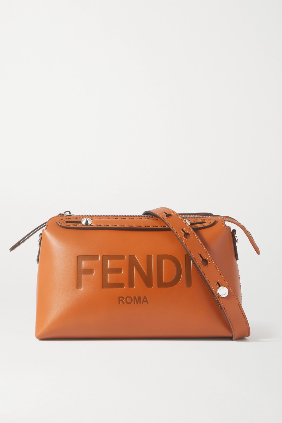 Fendi By The Way debossed leather shoulder bag