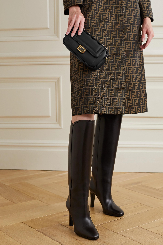 Fendi Easy 2 Baguette 皮革单肩包