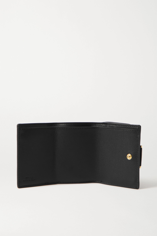 Fendi Portemonnaie aus Leder mit Prägung