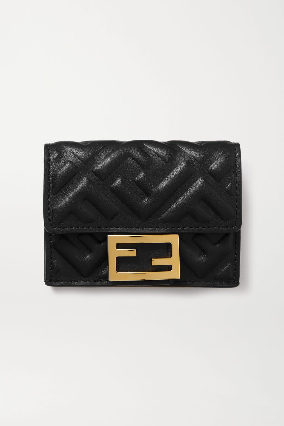 Fendi Embossed leather wallet