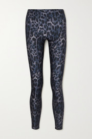 Koral Drive Cheetara leopard-print stretch leggings