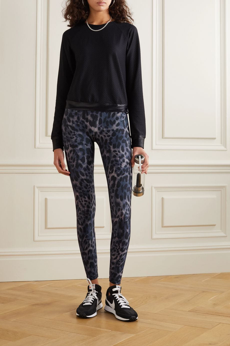 Koral Drive Cheetara Stretch-Leggings mit Print