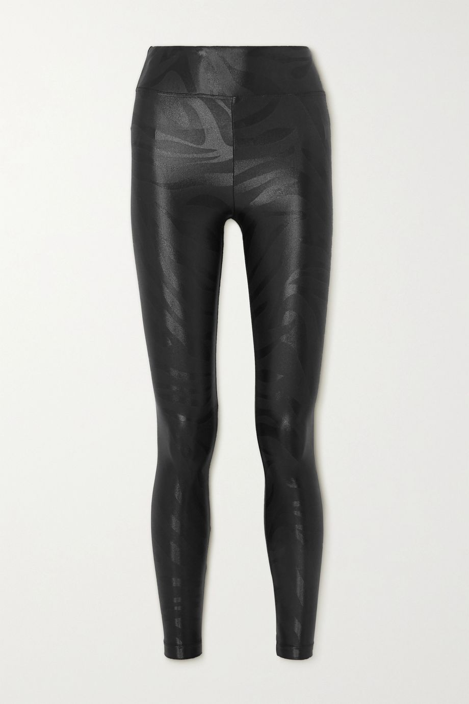 Koral Lustrous bedruckte Stretch-Leggings