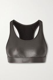 Koral Bermuda Infinity mesh-paneled stretch sports bra