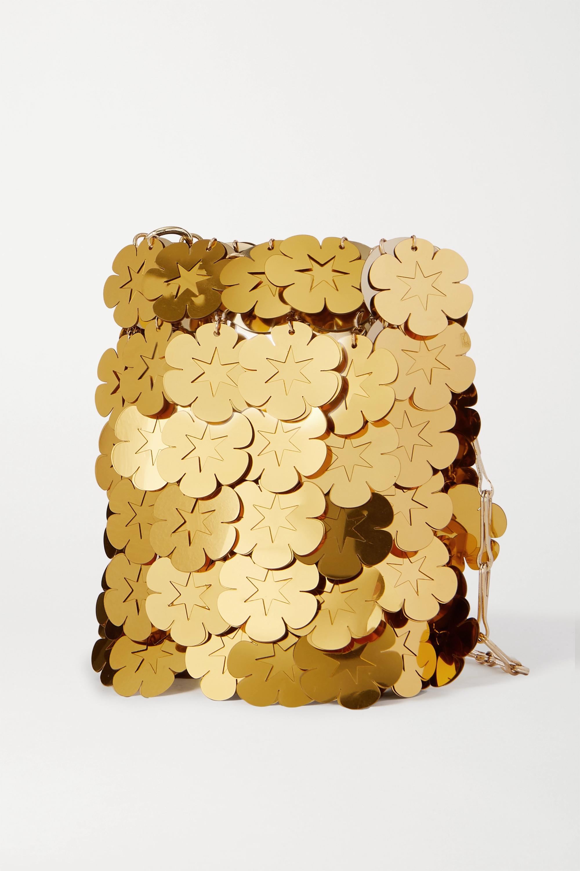 Paco Rabanne Sparkle Mini 1969 paillette-embellished chainmail shoulder bag