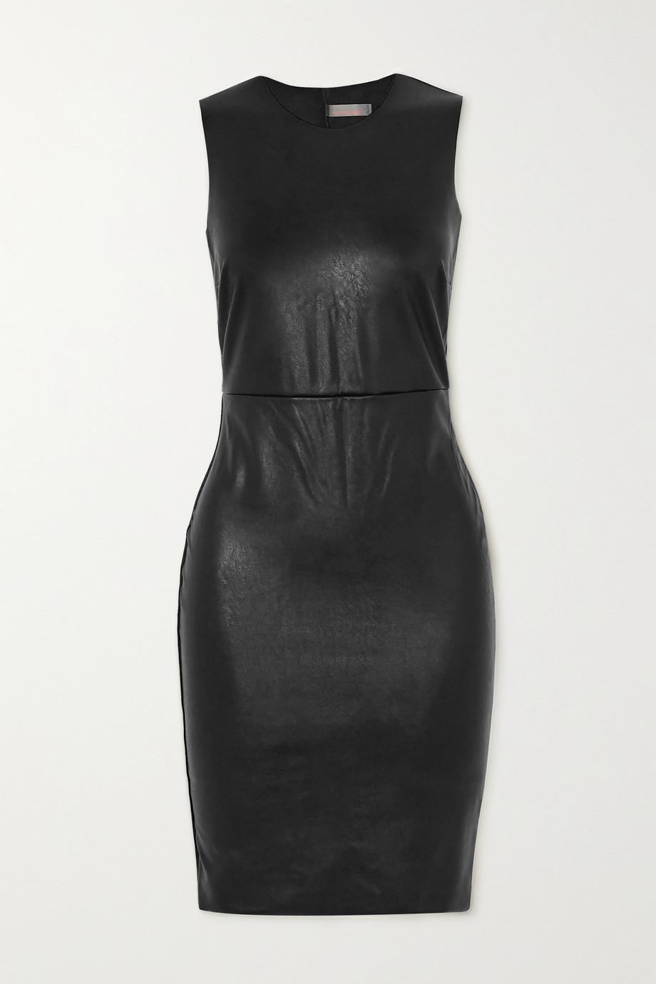 Commando Stretch faux leather mini dress