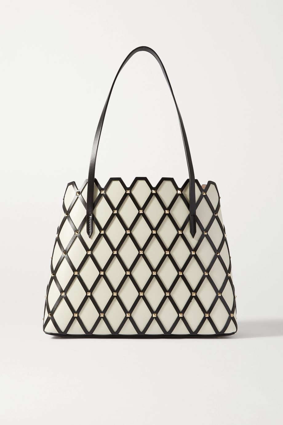 Valentino Valentino Garavani Beehive medium studded leather tote