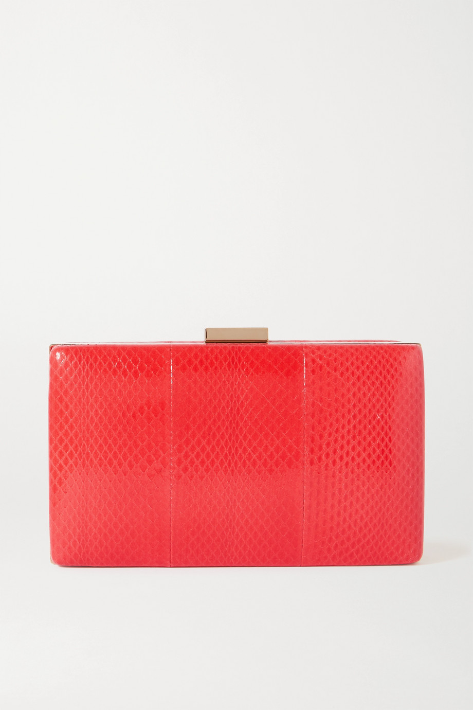 Valentino Valentino Garavani Carry Secrets watersnake clutch