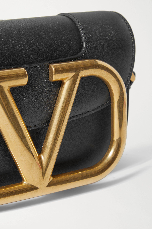 "Valentino Valentino Garavani ""Supervee"" 皮革小号单肩包"