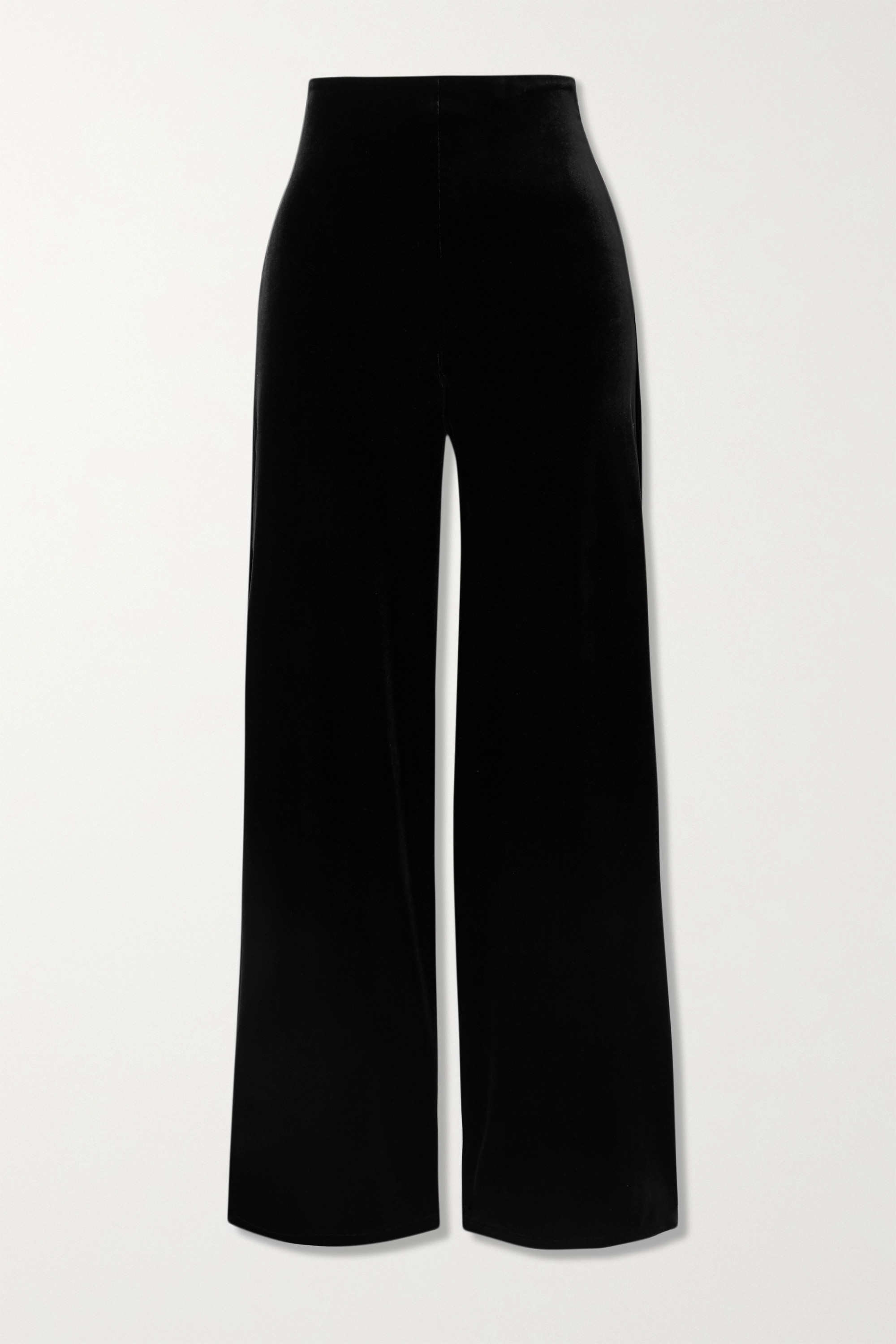 Commando STRETCH-VELVET WIDE-LEG PANTS