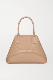 Akris Aicon small embossed textured-leather tote