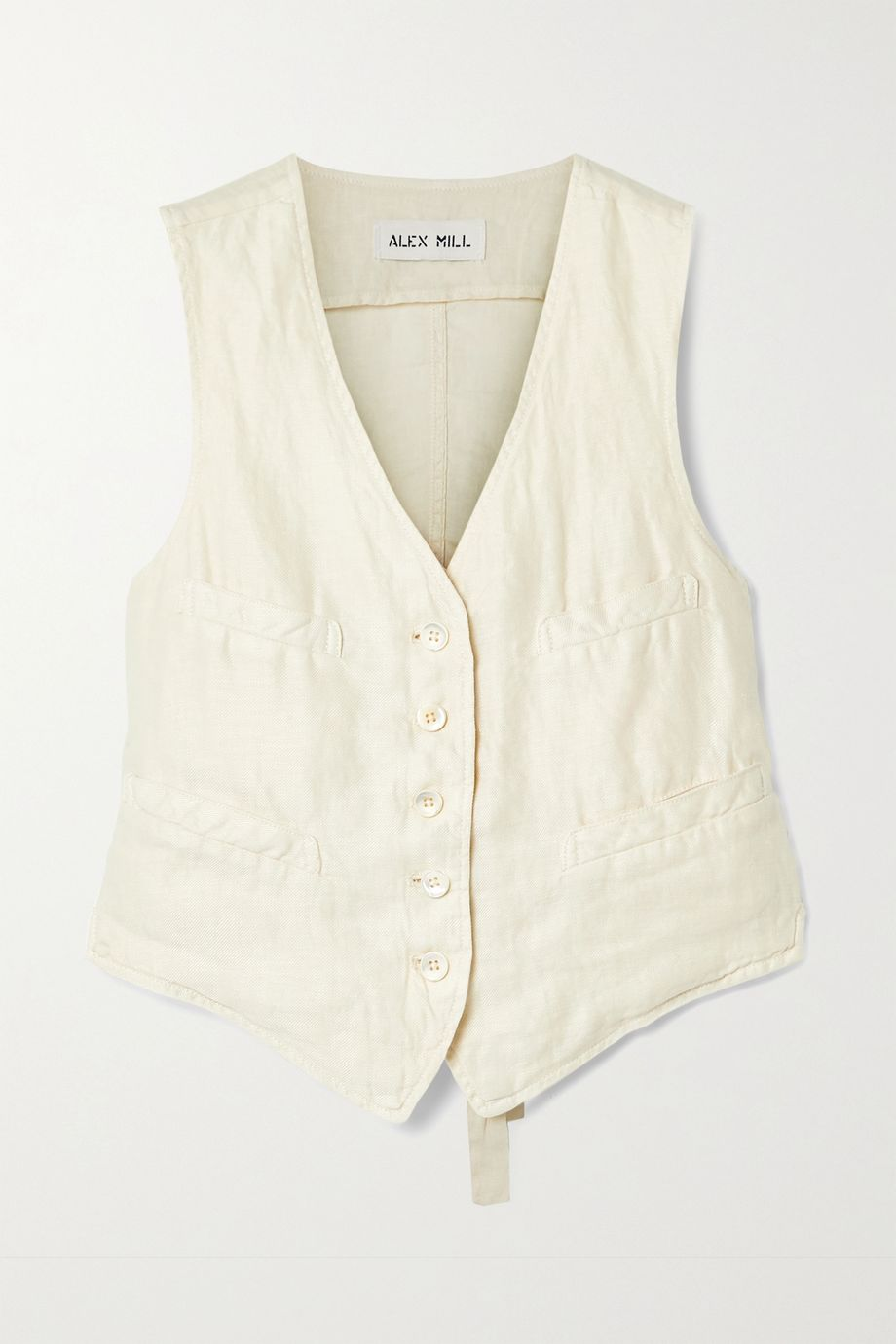 Alex Mill Boy linen-twill vest