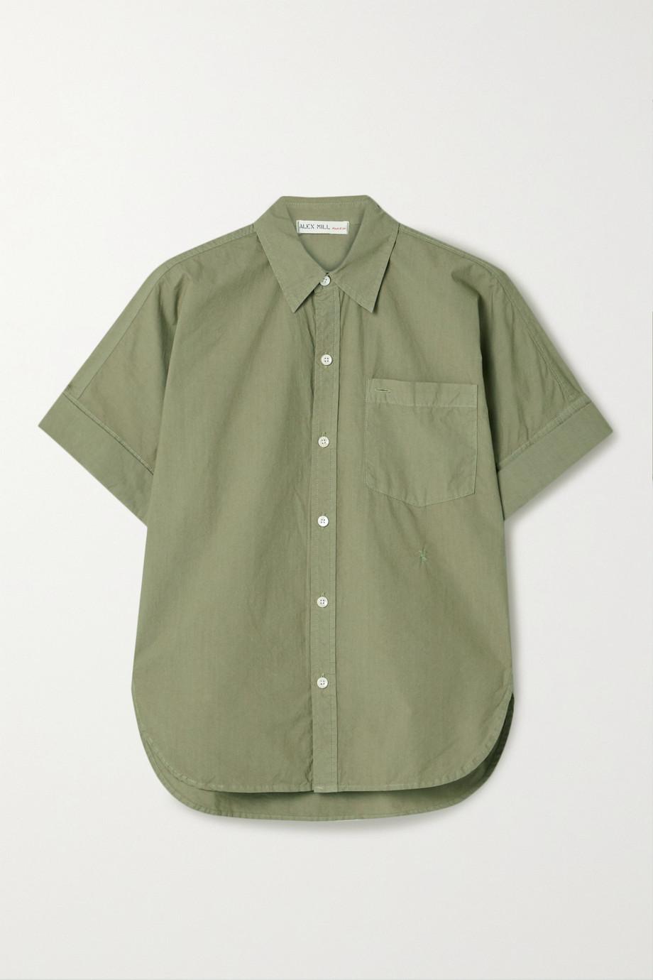 Alex Mill Charlie cotton-poplin shirt