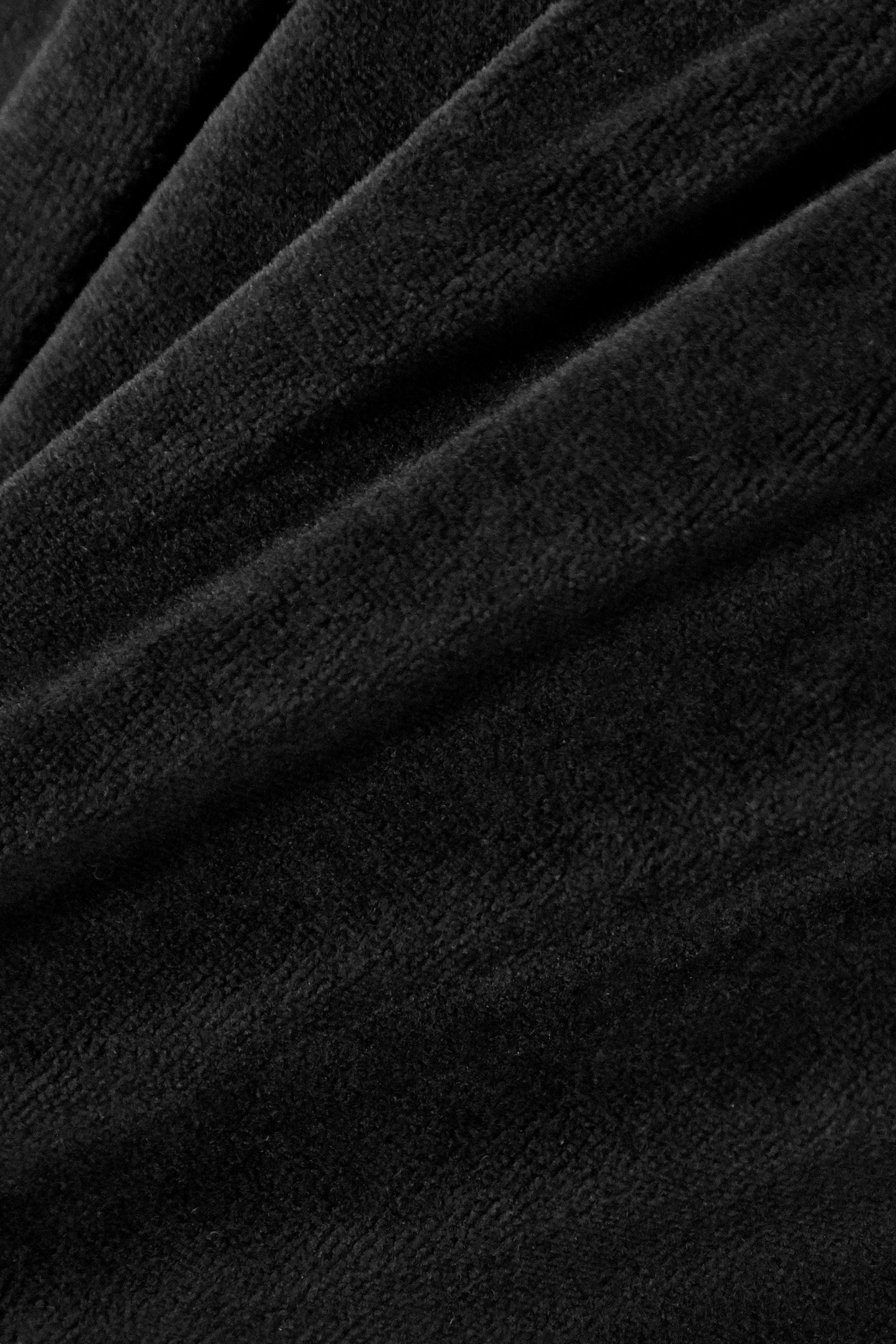 Suzie Kondi 弹力棉质混纺密丝绒休闲裤